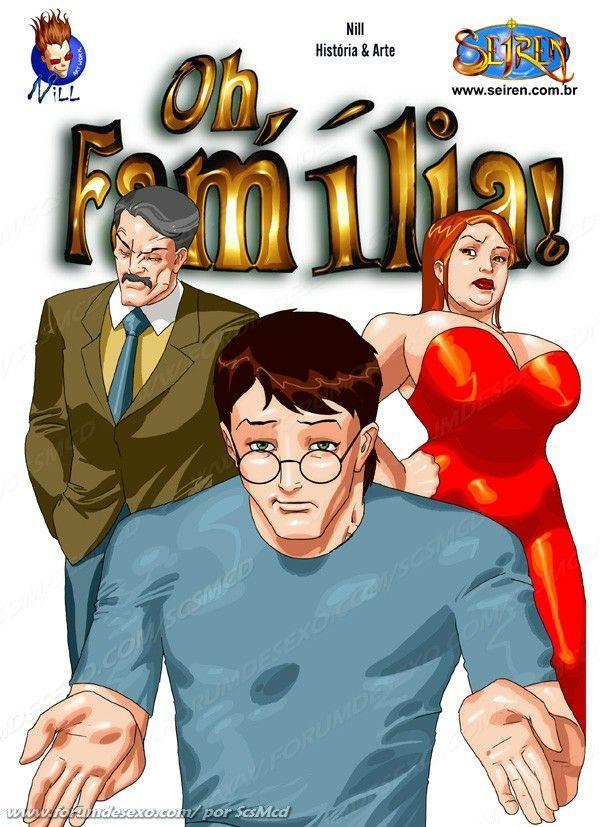 Oh Família, quadrinho erótico da Seiren