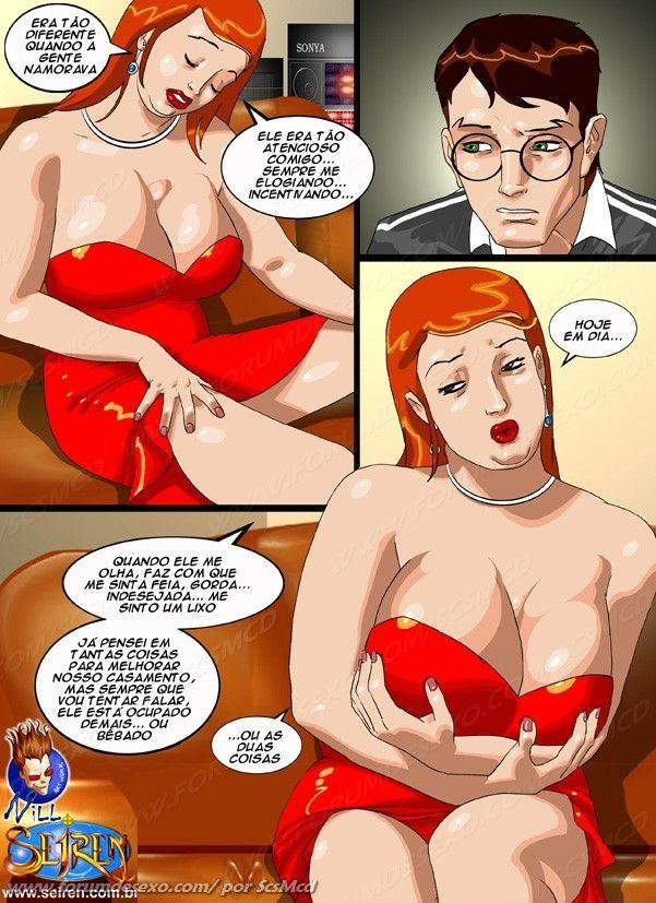 Gostosa peituda sensualizando sem querer...